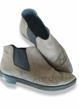 Стильные кожаные ботинки челси 37р.