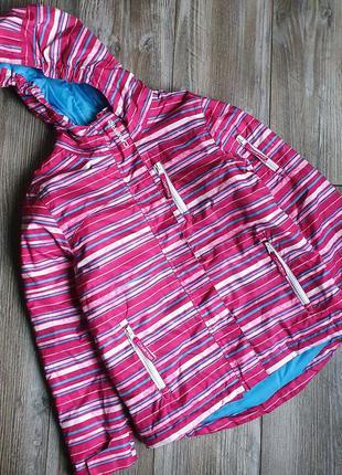 Куртка парка термо лыжная campri 7-8л