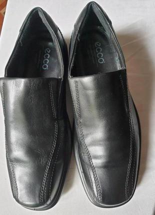 Ecco shock point легкие туфли натуральная кожа 42 р. оригинал!