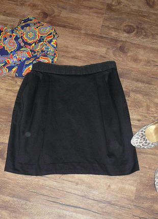 Классическая мини-юбка h&m