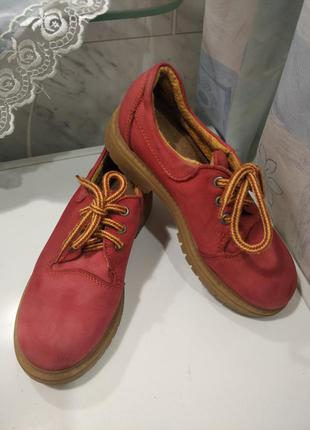 Туфли демисезонные (стелька 19 см)