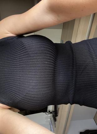 Платье чёрное короткое