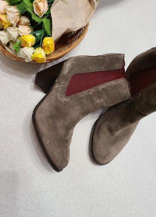 Ботинки женские, натуральная кожа