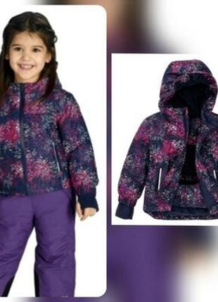 Зимняя термо-куртка на девочку