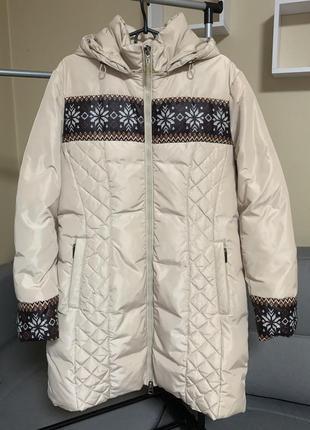 Женская куртка пуховик , лебединый пух