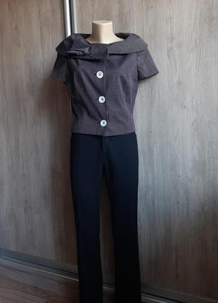 Escada элегантный пиджак на коротком рукаве