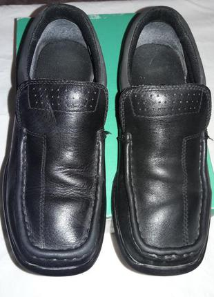 Туфли кожаные clarks  22 см стелька