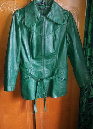 Шкіряна куртка -40р.