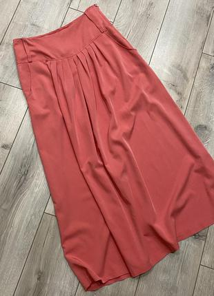 Коралловая юбка