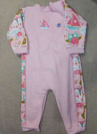 Теплый гидрокостюм для малышки