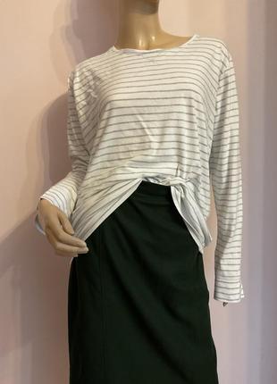 Хлопковая футболка-блуза/46-48 /brend kiabi