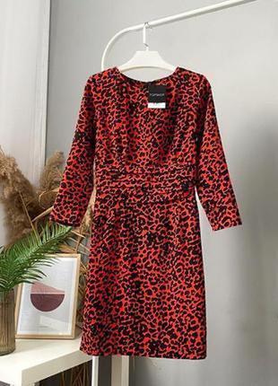 Модное платье в актуальный принт s