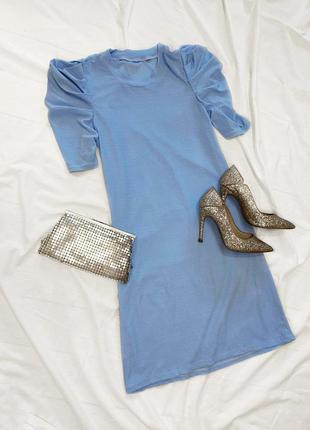 Нежное голубое платье 🎀