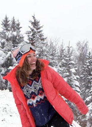 Шикарная пуховая куртка adidas terrex climaheat