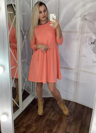 Платье зефирка, фактурное