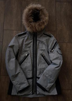 Утеплённая тёплая куртка парка napapijri