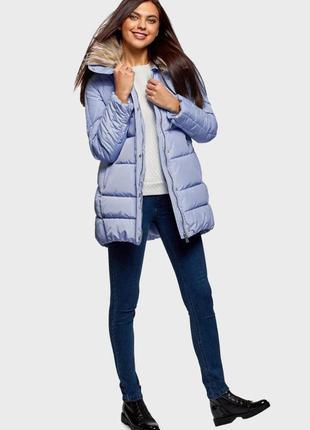 Куртка жіноча блакитна oodji