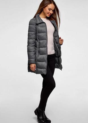 Куртка жіноча сіра  oodji