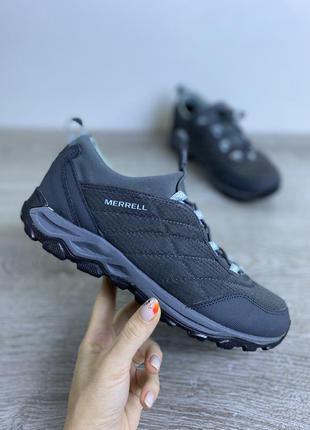 Великолепные комфортные утеплённые кроссовки merrell