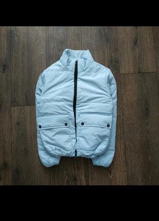 Куртка демисезонная, зефирка, пуффер на 8-10 лет