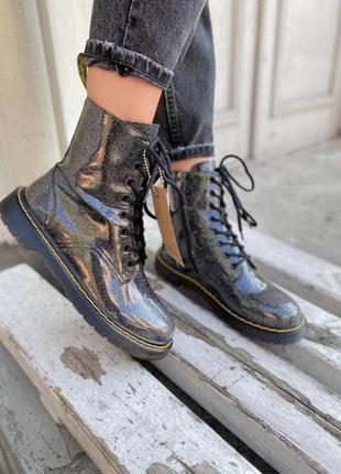 Dr martens 1460 galaxy zip ботинки женские