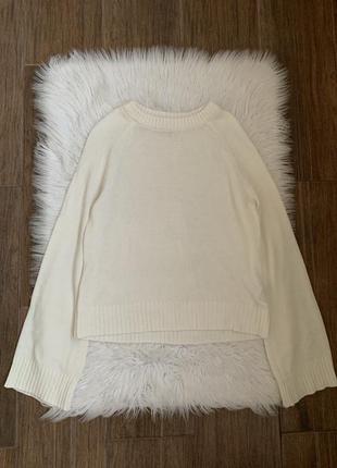 Белый свитер h&m