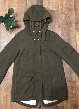 Куртка парка h&m размер 34