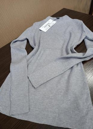 ❤италия мега стильные гольфы свитерки в рубчик качество люкс расцветки