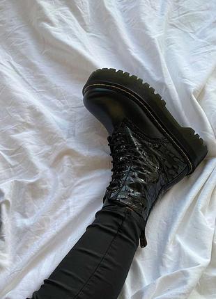 Drmartens jadon reptile ботинки женские деми