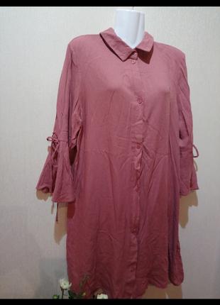🌺🌿🍃рубашка -платье р.50-52 🍃🌿