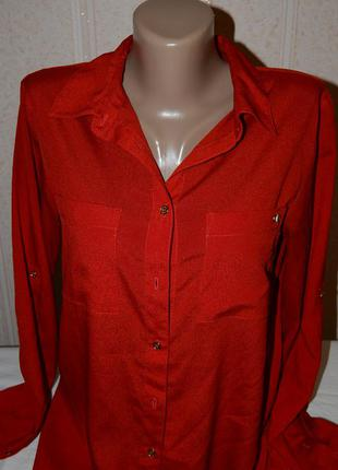 Яркая красивая легкая рубашка блуза ck