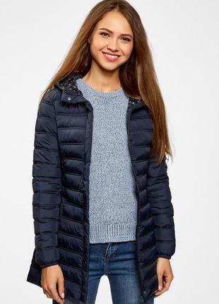 Куртка жіноча синя oodji