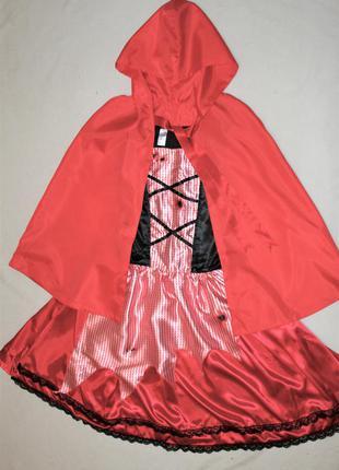 Ролевой секси костюм хэллоуин красная шапочка зомби