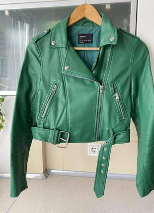 Куртка-косуха бренд bershka
