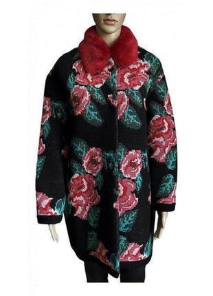 Премиум-класс италия. кардиган пальто куртка кофта   twin-set simona barbieri milano