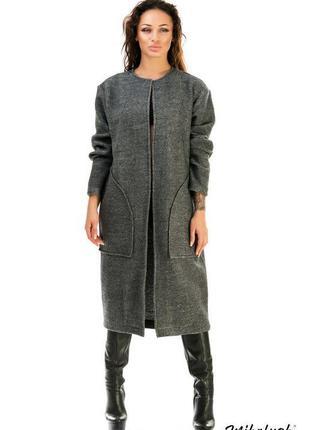 Авторское фабричное пальто кардиган