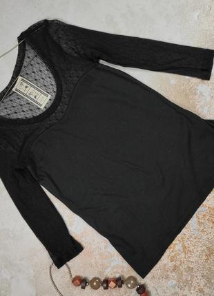 Блуза кофточка красивая приятная сетка, кружево next uk 14/42/l