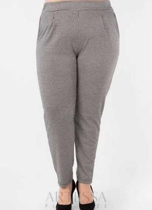 Приятньіе брюки деми большого размера