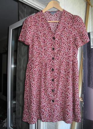 Милое платье в мелкий цветочек