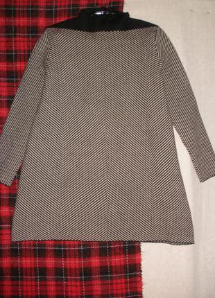 Натуральной шерсти свитер джемпер cos