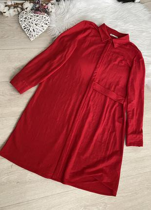 Платье рубашка от zara