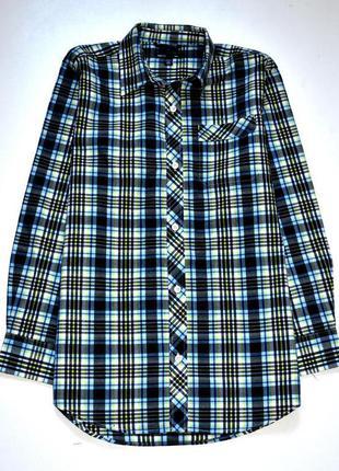 Gap классная рубашка в клетку на парня. 12-13 лет