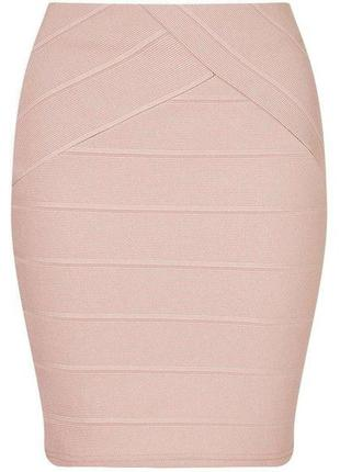 Sale miss selfridge шикарная юбка бандажная карандаш цвета капучино