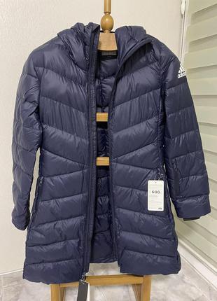 Пухова куртка adidas для жінок, розмір м.