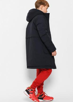 Зимняя парка для мальчика 6-17 лет, куртка зимняя, пуховик