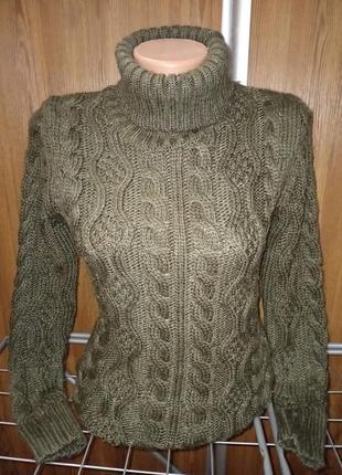 Очень тёплый свитер турция 60%шерсти