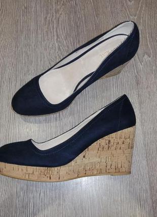 Туфли платформа, танкетка