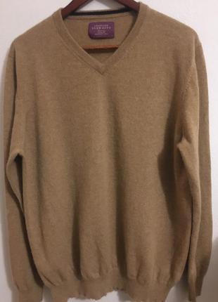 Кашемировый  мужской свитер джемпер