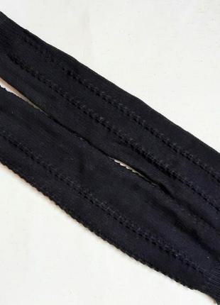 Новые черные вязаные рукава гетры  сток из германии one size