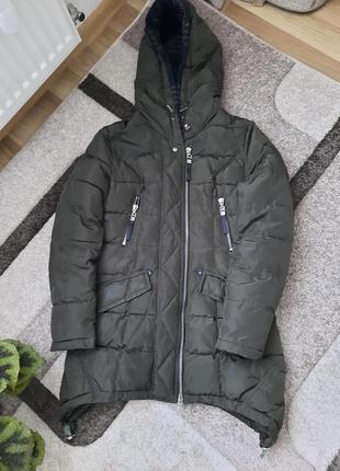 Куртка пуховик парка пальто розмір см